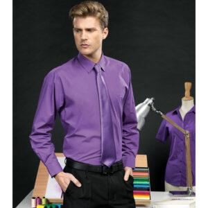 Long Sleeve Poplin Bar & Restaurant Shirt
