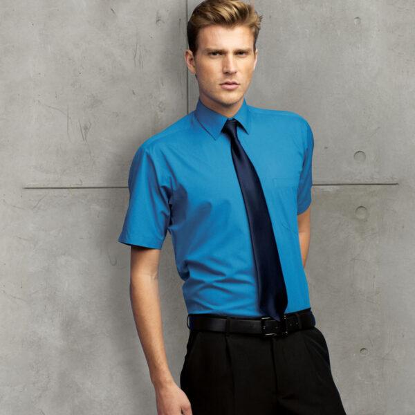 hort Sleeve Poplin Bar & Restaurant Shirt