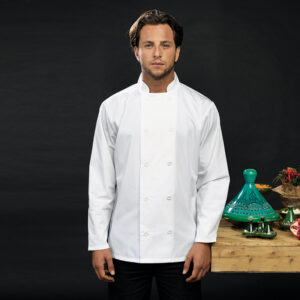 Long sleeve personalised chef's jacket